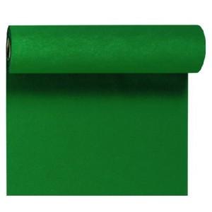 Tischläufer Tête-à-Tête, jägergrün, 0,40 x 24 m