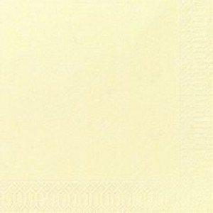 Serviette, Zelltuch, cream, 24 x 24 cm