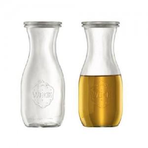 Saftflasche mit Glasdeckel, Inhalt: 530 ml