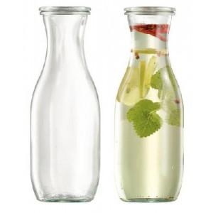 Saftflasche mit Glasdeckel, Inhalt: 1062 ml