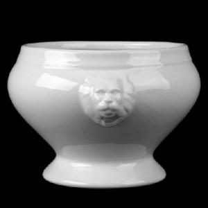 Löwenkopfterrine ohne Deckel, Inhalt: 3 l