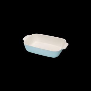 Auflaufform rechteckig, Länge: 30 cm, Faro, hellblau