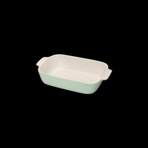 Auflaufform rechteckig, Länge: 30 cm, Faro, hellgrün