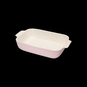 Auflaufform rechteckig, Länge: 36,5 cm, Faro, rosa