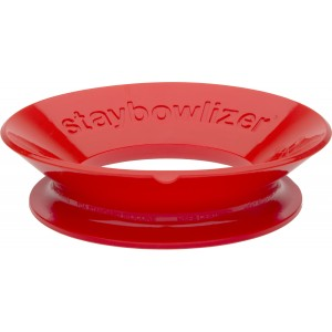 Silikonstellring, Staybowlizer, rot