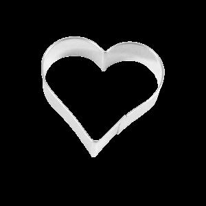 Ausstecher Herz, Ø = 6,5cm
