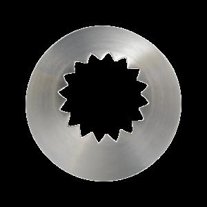 Französische Sterntülle 61, Ø = 14 mm