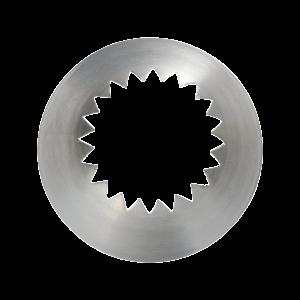 Französische Sterntülle 62, Ø = 20 mm