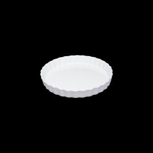 Tortenform, Ø = 28 cm, Burgund, weiß