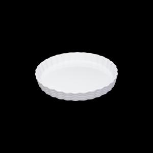 Tortenform, Ø = 30 cm, Burgund, weiß