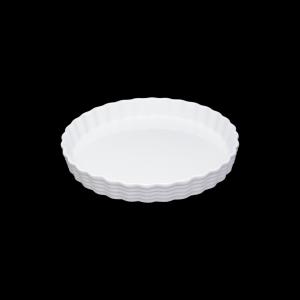Tortenform, Ø = 33 cm, Burgund, weiß