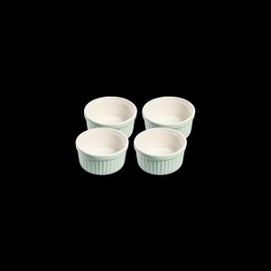 Ragoutschälchen rund, Ø = 10 cm, 4er Set, Faro, hellgrün