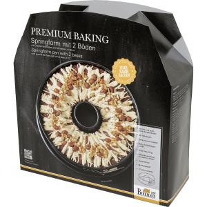 Springform mit 2 Böden, Premium Baking, Ø = 28 cm