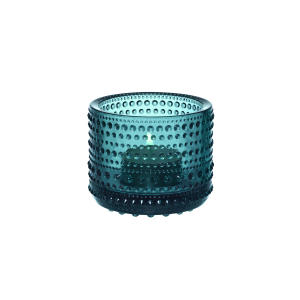 Windlicht, Kastehelmi, Ø = 6,4 cm, seeblau