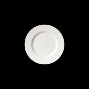 Teller flach, Ø = 28 cm, Fine Bone China Classic, weiß