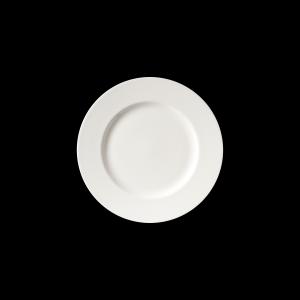 Teller flach, Ø = 32 cm, Fine Bone China Classic, weiß