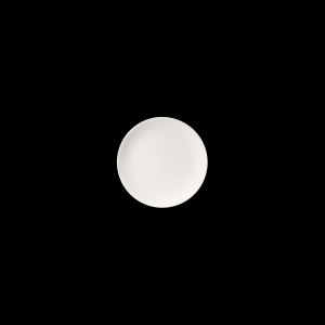 Teller flach, Ø = 16 cm, Fine Bone China Pure, weiß