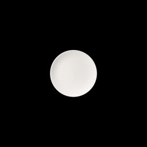 Teller flach, Ø = 21 cm, Fine Bone China Pure, weiß
