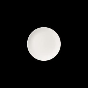 Teller flach, Ø = 24 cm, Fine Bone China Pure, weiß