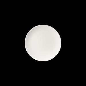 Teller flach, Ø = 26 cm, Fine Bone China Pure, weiß