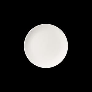 Teller flach, Ø = 32 cm, Fine Bone China Pure, weiß