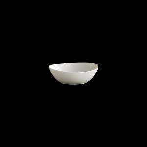 Schale oval, Länge: 18 cm, Fine Bone China Motion, weiß
