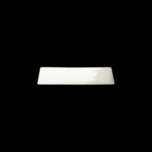 Platte rechteckig, Länge: 27 cm, Fine Bone China Pure, weiß