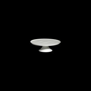 Tortenplatte auf Fuß, Ø = 24 cm, Fine Bone China Classic, weiß