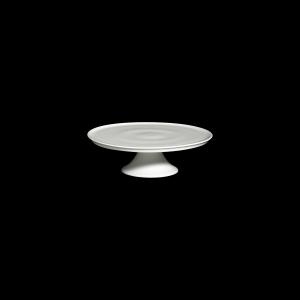 Tortenplatte auf Fuß, Ø = 32 cm, Fine Bone China Classic, weiß