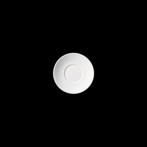 Kaffee-Untere, Ø = 17 cm, Fine Bone China Grand Dining, weiß