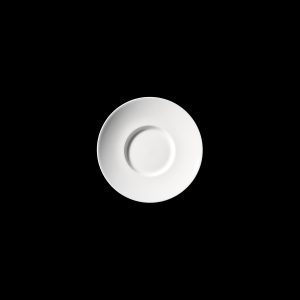 Gourmetteller, Ø = 25 cm, Fine Bone China Grand Dining, weiß