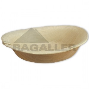Dip-Schalen, aus Palmblatt, Ø = 12 cm