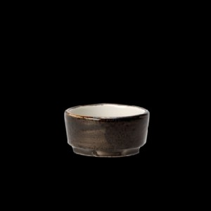 Dip-Schale, Länge: 6,5 cm, Craft, grau