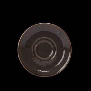 Kaffee-Untere, Ø = 14,5 cm, Craft, grau