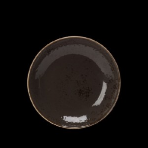 Teller tief, Ø = 21,5 cm, Craft, grau