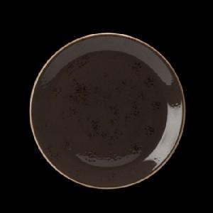 Teller flach, Ø = 30,5 cm, Craft, grau