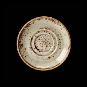 Espresso-Untere, Ø = 11,8 cm, Craft, grün