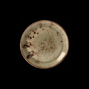 Teller flach, Ø = 15,3 cm, Craft, grün