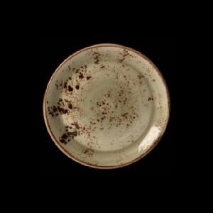 Teller flach, Ø = 20,3 cm, Craft, grün