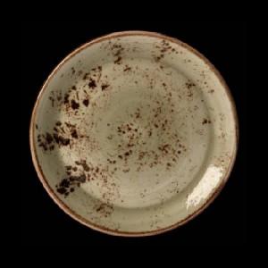 Teller flach, Ø = 30,5 cm, Craft, grün