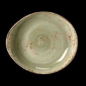Teller tief, Ø = 28 cm, Craft, grün
