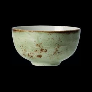 Schale rund, Ø = 13 cm, Craft, grün