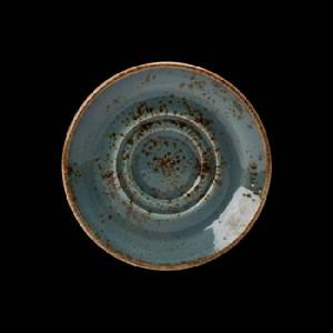 Kaffee-Untere, Ø = 14,5 cm, Craft, blau