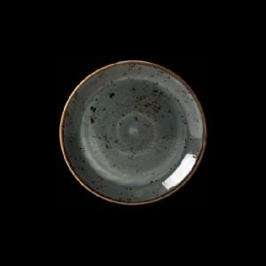 Teller flach, Ø = 15,3 cm, Craft, blau