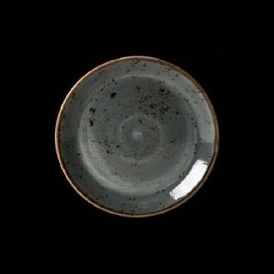 Teller flach, Ø = 20,3 cm, Craft, blau
