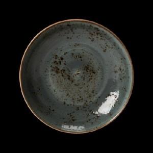 Teller tief, Ø = 25,3 cm, Craft, blau