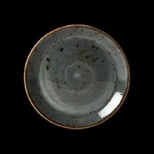Teller flach, Ø = 25,3 cm, Craft, blau