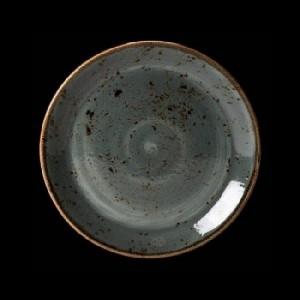 Teller flach, Ø = 28 cm, Craft, blau