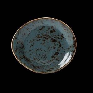 Teller tief, Ø = 28 cm, Craft, blau