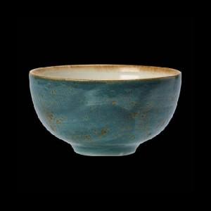 Schale rund, Ø = 13 cm, Craft, blau